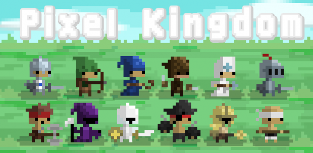 Pixel Kingdom Cover!