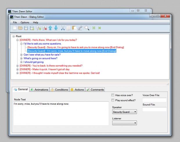 Toolset - Dialog Editor