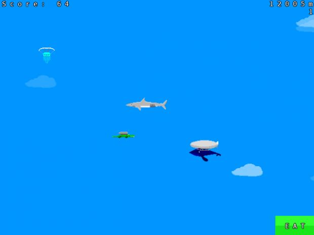 Rocket Croc Current Progress Screenshots