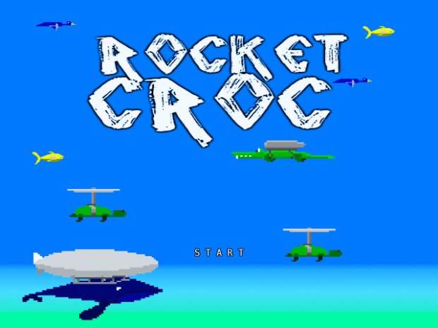 Rocket Croc Current Progress Screenshots