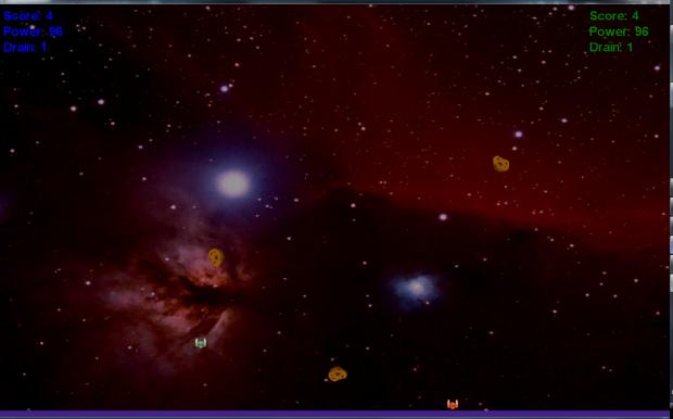 Two player screen shot