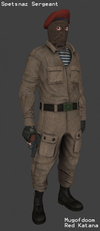 Spetsnaz Sergeant