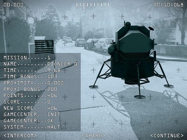 Moon Race Score iPad