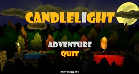 Candlelight - Main Menu Screen