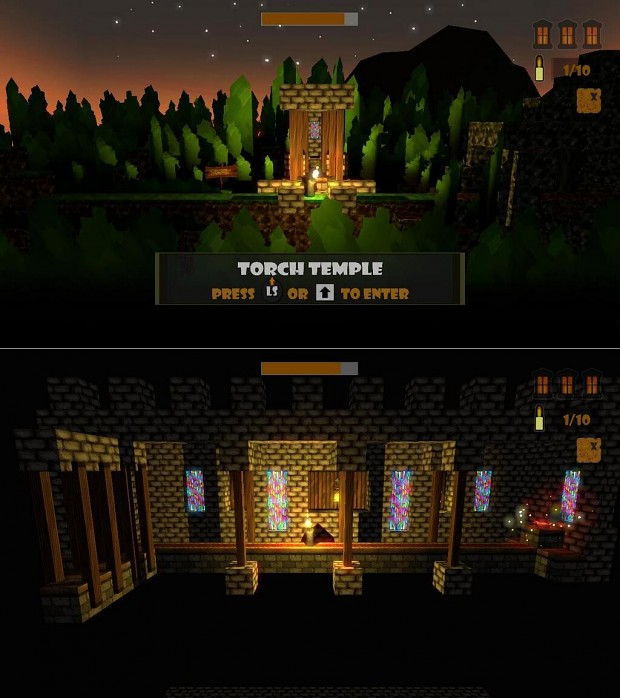 Candlelight - Torch Temple...