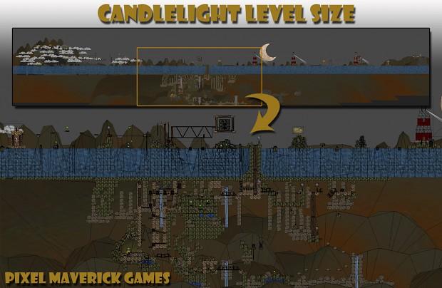 Candlelight - Level Size Example...