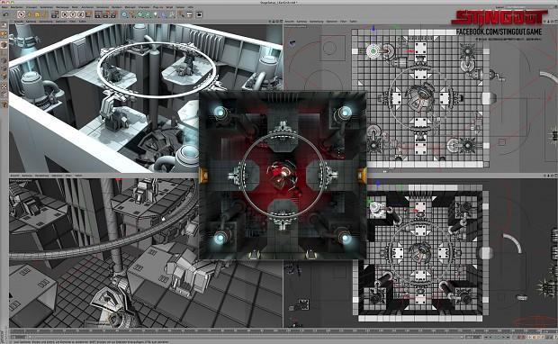 Making Of: Level Design in Cinema4D