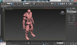 Enemy Ninja 3ds max