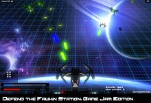 Defend the Fawkin Station - game jam edition