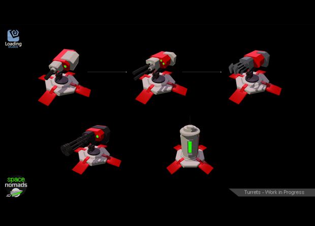 Space Nomads WIP