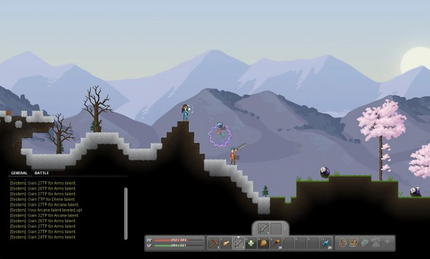 The Snowy Mountains Biome