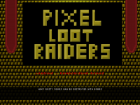 Pixel loot Raider - new loading screen