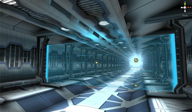 Interior Force Field - Unity3D Work in Progress