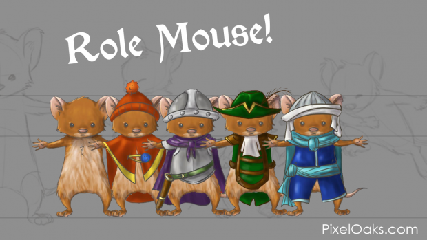 Mouse Concept Art.
