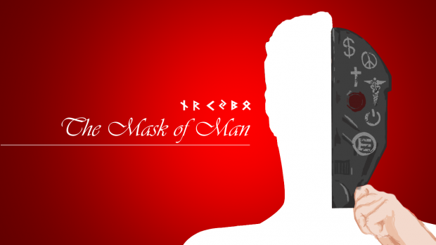 The Mask of Man Wallpaper001