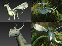 Forest Dragon Model
