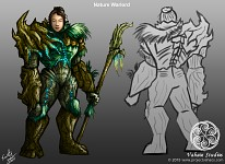 Nature Warlord Concept