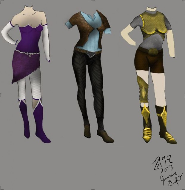 Female Armor Concepts