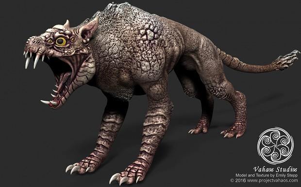 Creature Model Render