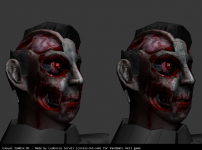 Casual Zombie 01 - Low poly model