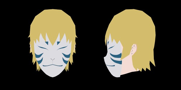 Newhair + Mask Male Character