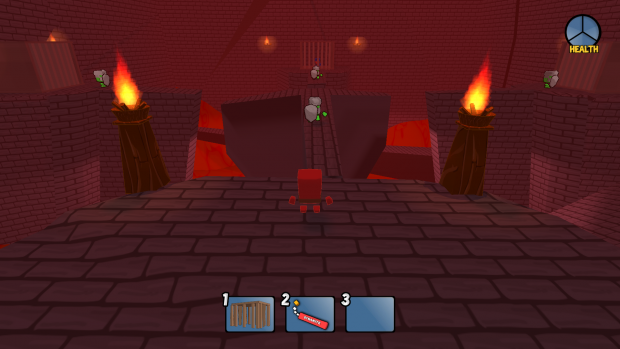 Mr Utility Dungeon Castle Boss room