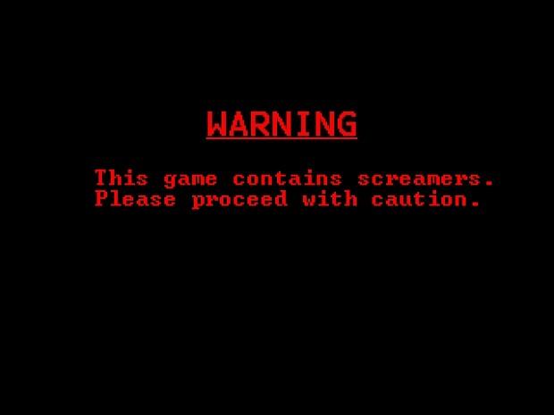 Warning Screen before Startup