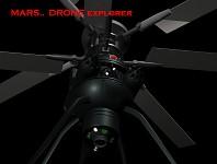 Drone Explorer on Mars