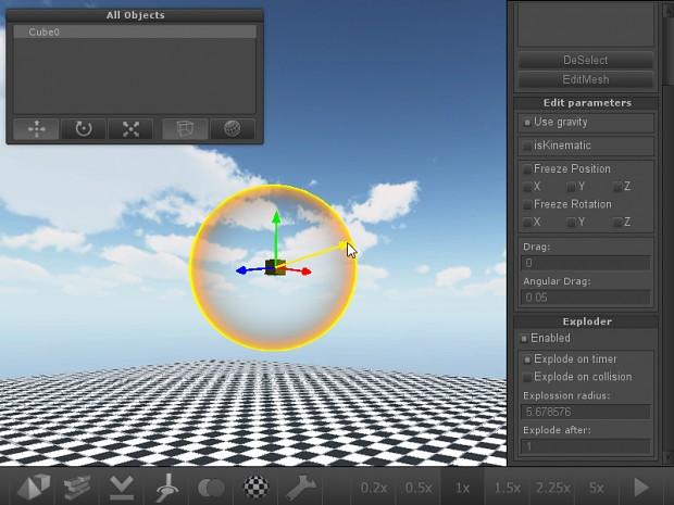 Wreckbox (v0.0.3 not released yet): Exploders