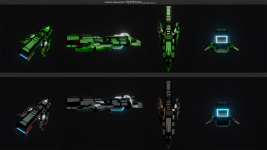 Ship editing and materials/paint