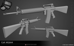 Colt M16A4 - WIP