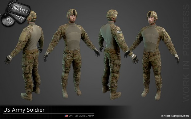 US Army Soldier - WIP