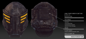 UGMIC POWER ARMOR HELMET
