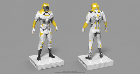 Alan Bodrick - 3D Collectible Figure [colored]