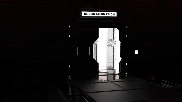Game Over Screen 'Tunnel of light' dark