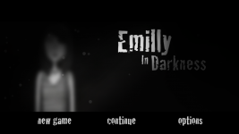Emilly In Darkness - main menu