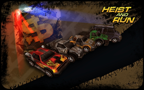 Heist and Run Promo Picture