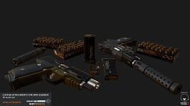 WMS Equinox pistol customizations (WIP)