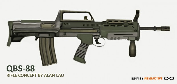 QBS Type 88 assault rifle