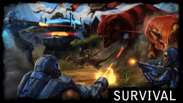 'ORION: Dino Horde' - Game Mode Artwork