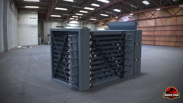 Raptor cage
