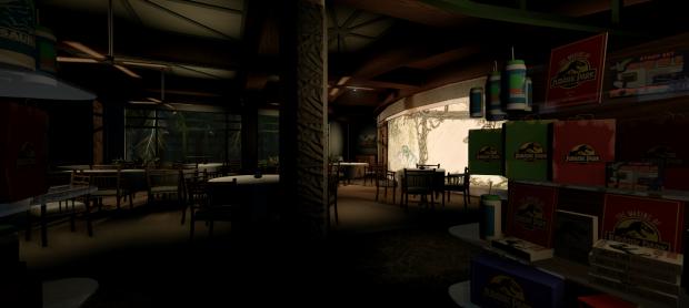 Cretaecious cafe,work in progress