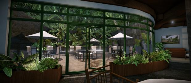 Cretaecious Cafe - Patio