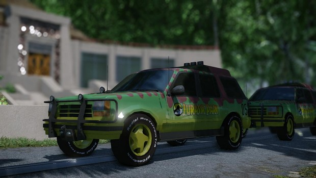 Ford Explorer work in progress