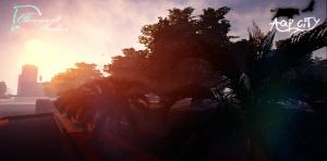 Sunset on AQP City