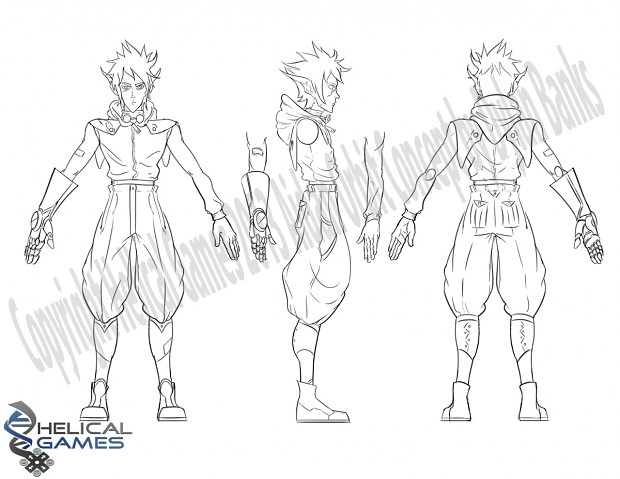 Aidan Orbit - Model Sheet