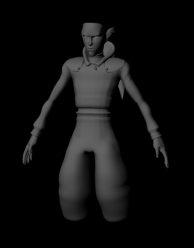 Aidan Orbit - WIP 3D Model