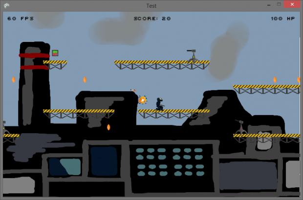 Screenshots from development