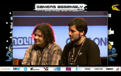 Gamers Assembly: Damien and Emerick on stage :)