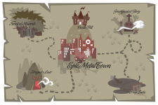 Epic Metal Kingdom map